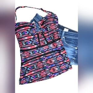 NWT Island Escape Antiqua Bandini Tankini Top